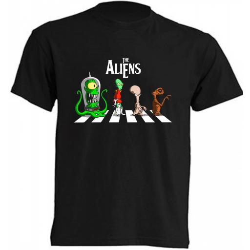 Camiseta The Aliens