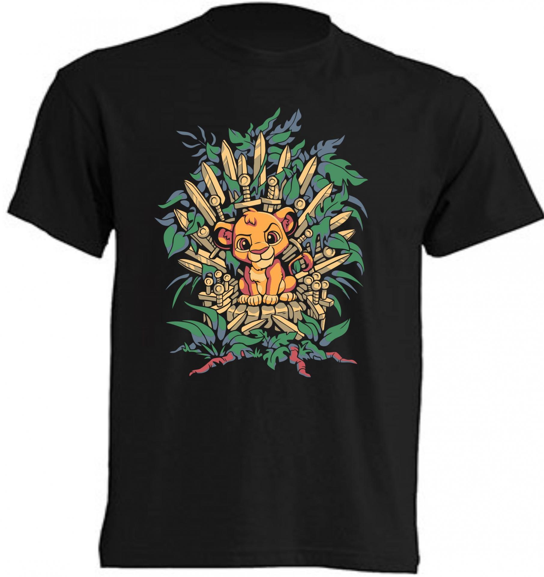Camiseta Lion Thrones