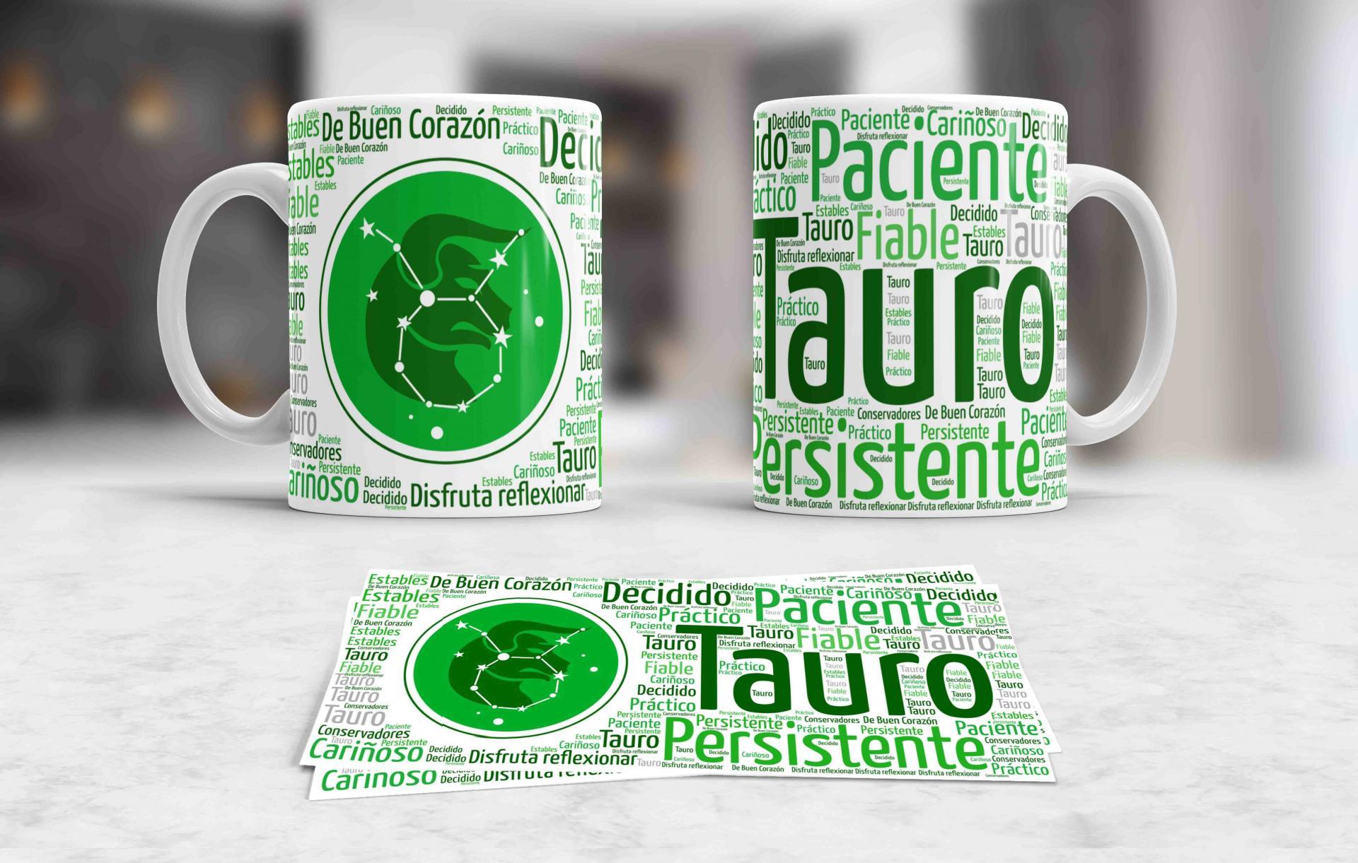 Taza Signos del Zodíaco Tauro (039)