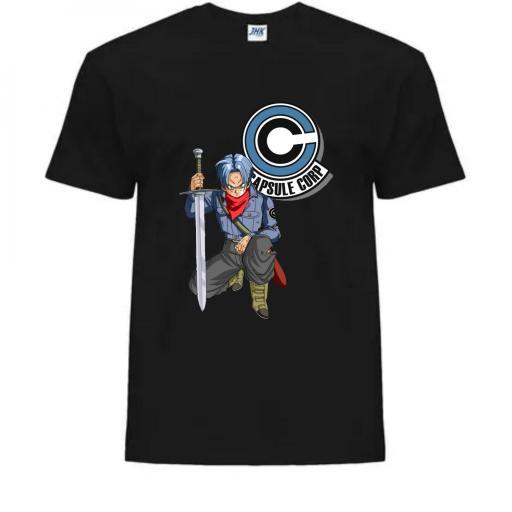 Camiseta Capsule Corp Trunks