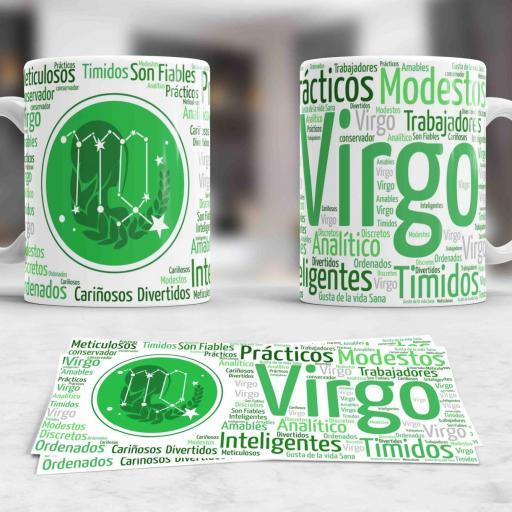 Taza Signos del Zodíaco Virgo (040)