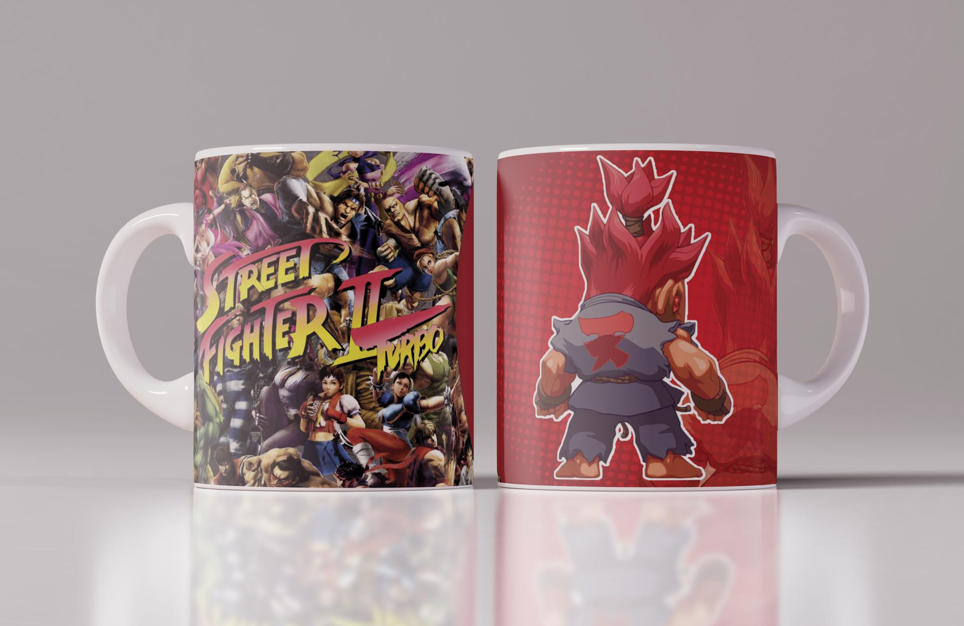 Taza Street Fighter Akuma (107)