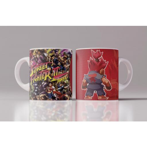Taza Street Fighter Akuma (107)