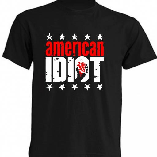 CAMISETA AMERICAN IDIOT - GREEN DAY