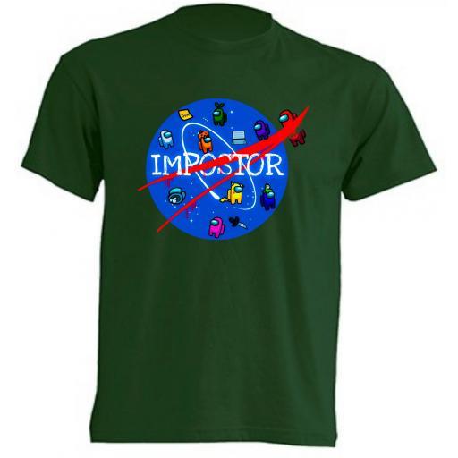 Camiseta Among Us Nasa