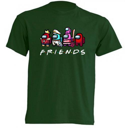 Camiseta Among Us Friends [1]