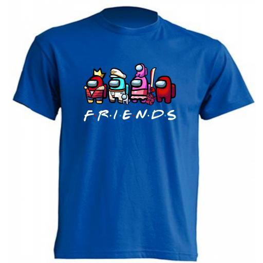 Camiseta Among Us Friends [2]