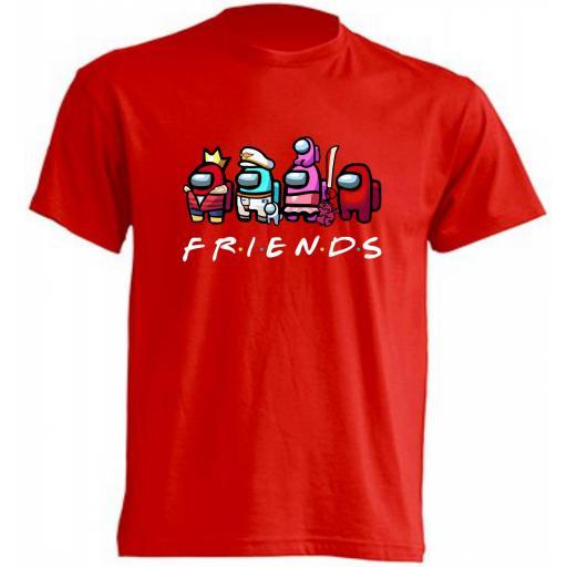 Camiseta Among Us Friends [3]