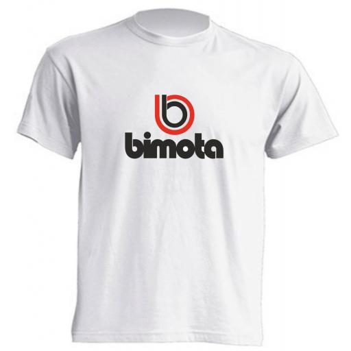 Camiseta Bimota color Blanco