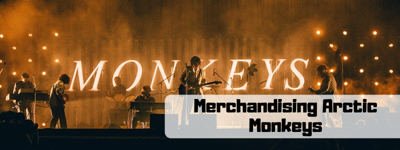 Merchandising de Arctic Monkeys