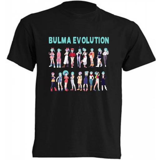 CAMISETA BULMA - DRAGON BALL