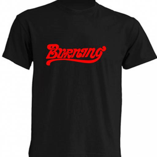 CAMISETA BURNING