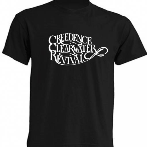 CAMISETA CREEDENCE CLEARWTER REVIVAL