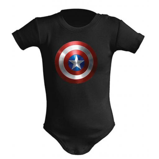 Body de bebe Captain America