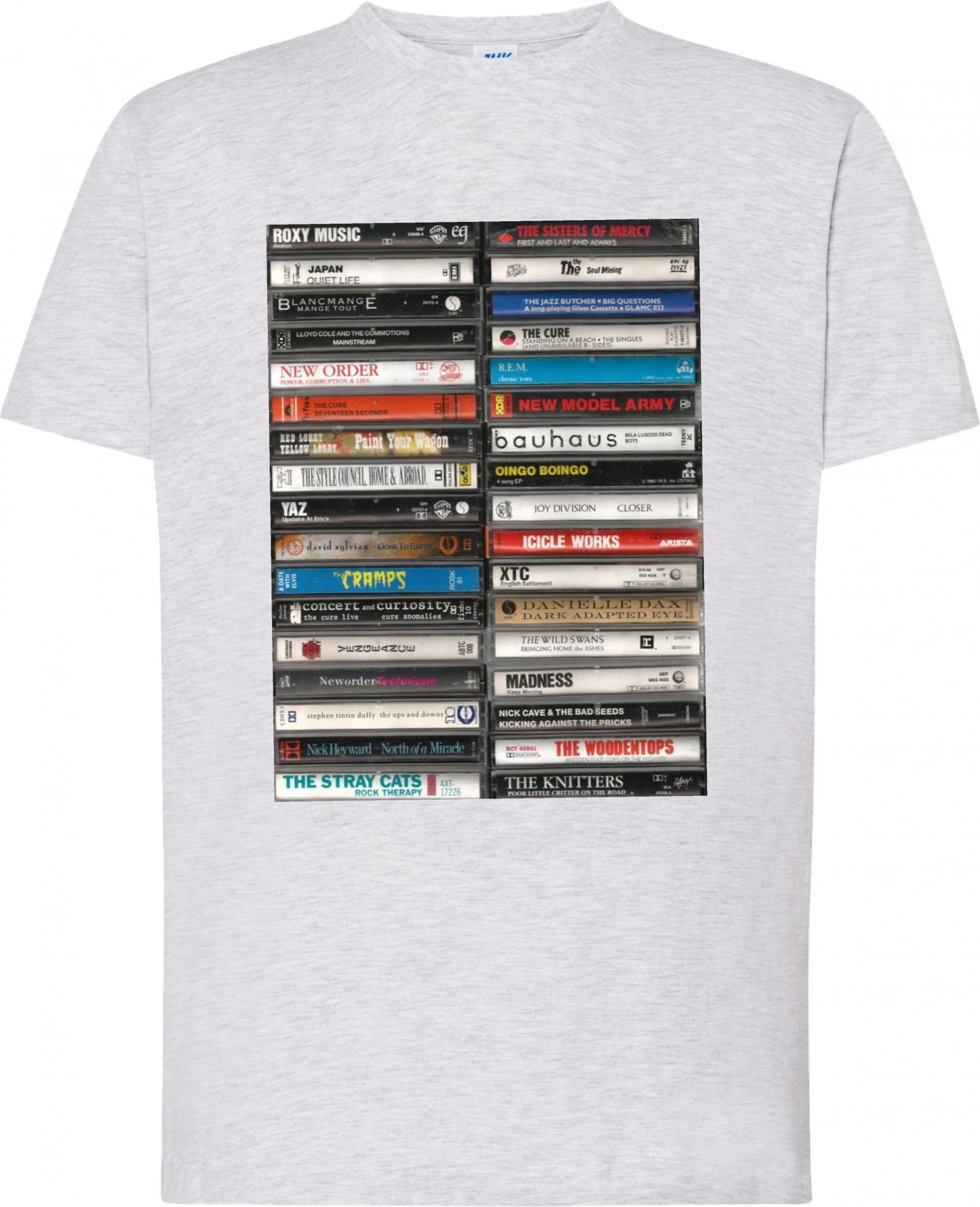 Camiseta Cassettes Art Vintage