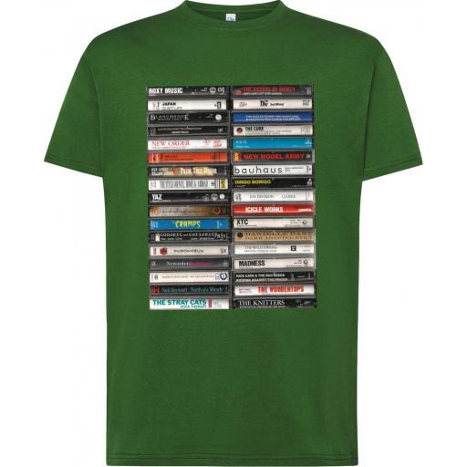 Camiseta Cassettes Art Vintage [1]