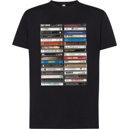Camiseta Cassettes Art Vintage [2]