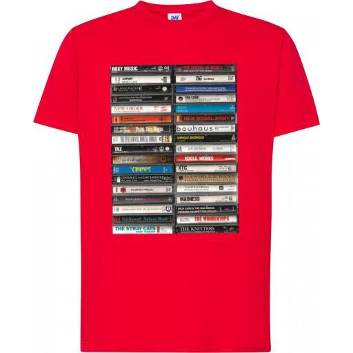 Camiseta Cassettes Art Vintage [3]