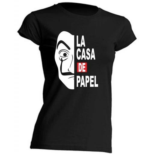 Camiseta de chica La Casa de Papel