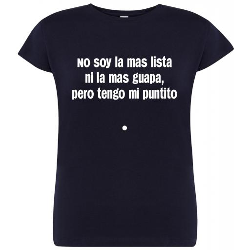 Camiseta de chica Tengo mi puntito