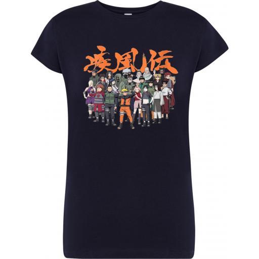 Camiseta de chica Naruto