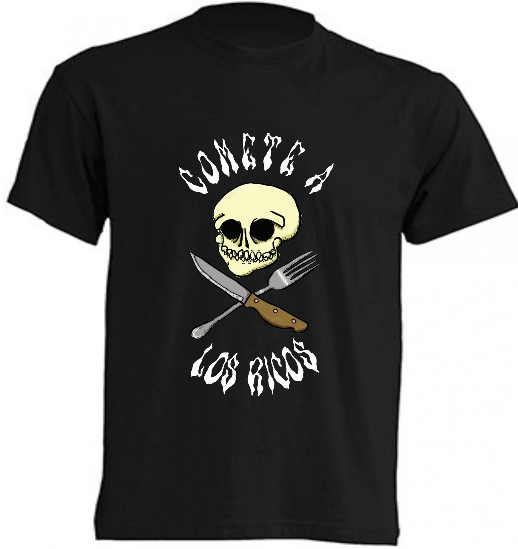 Camiseta Comete a los ricos