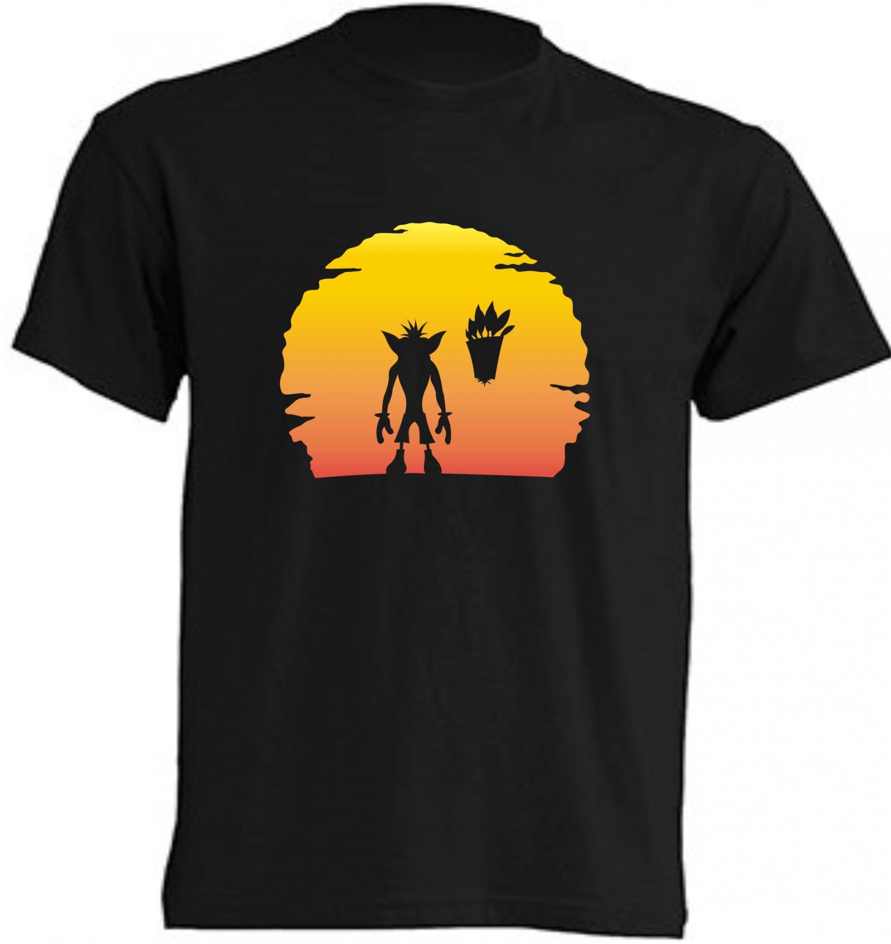 Camiseta Crash on Sunset