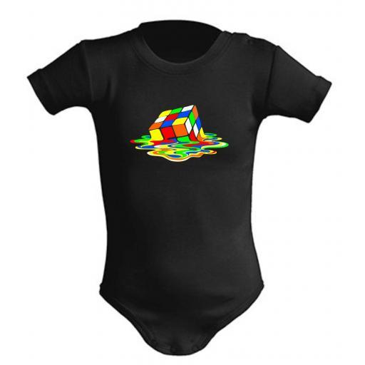 Body de bebe Cubo Derretido