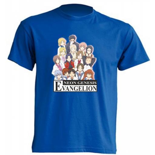 Camiseta Neon Genesis Evangelion