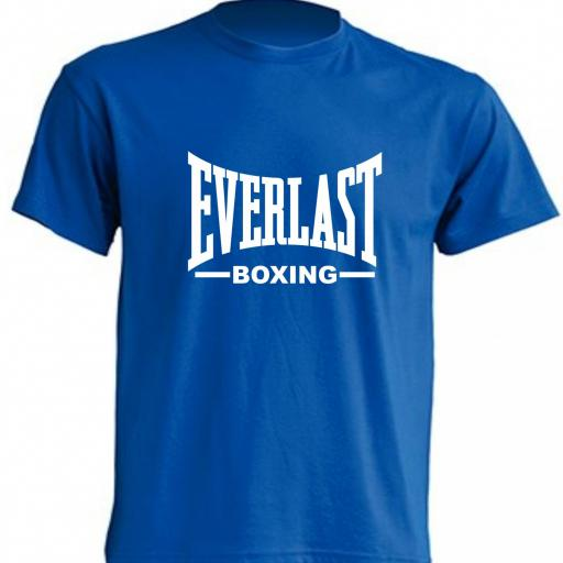 CAMISETA EVERLAST BOXING AZUL