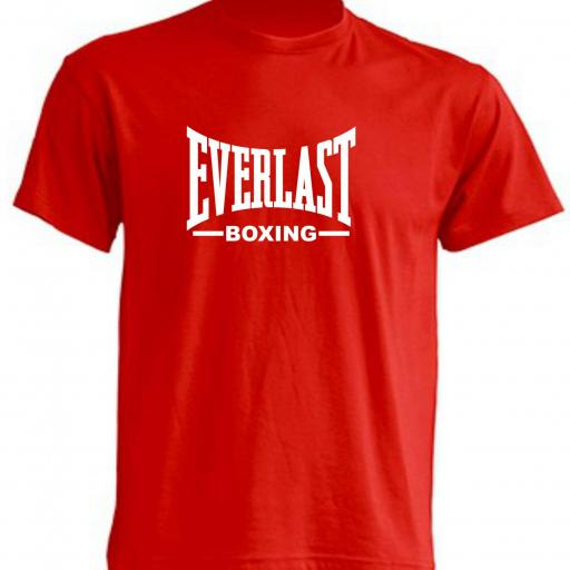 CAMISETA EVERLAST BOXING ROJA