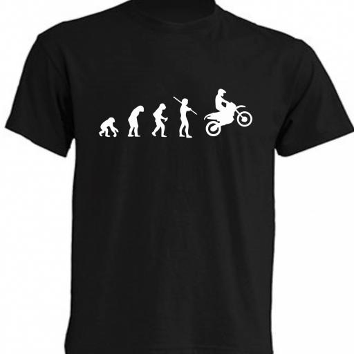 CAMISETA EVOLUTION BIKER