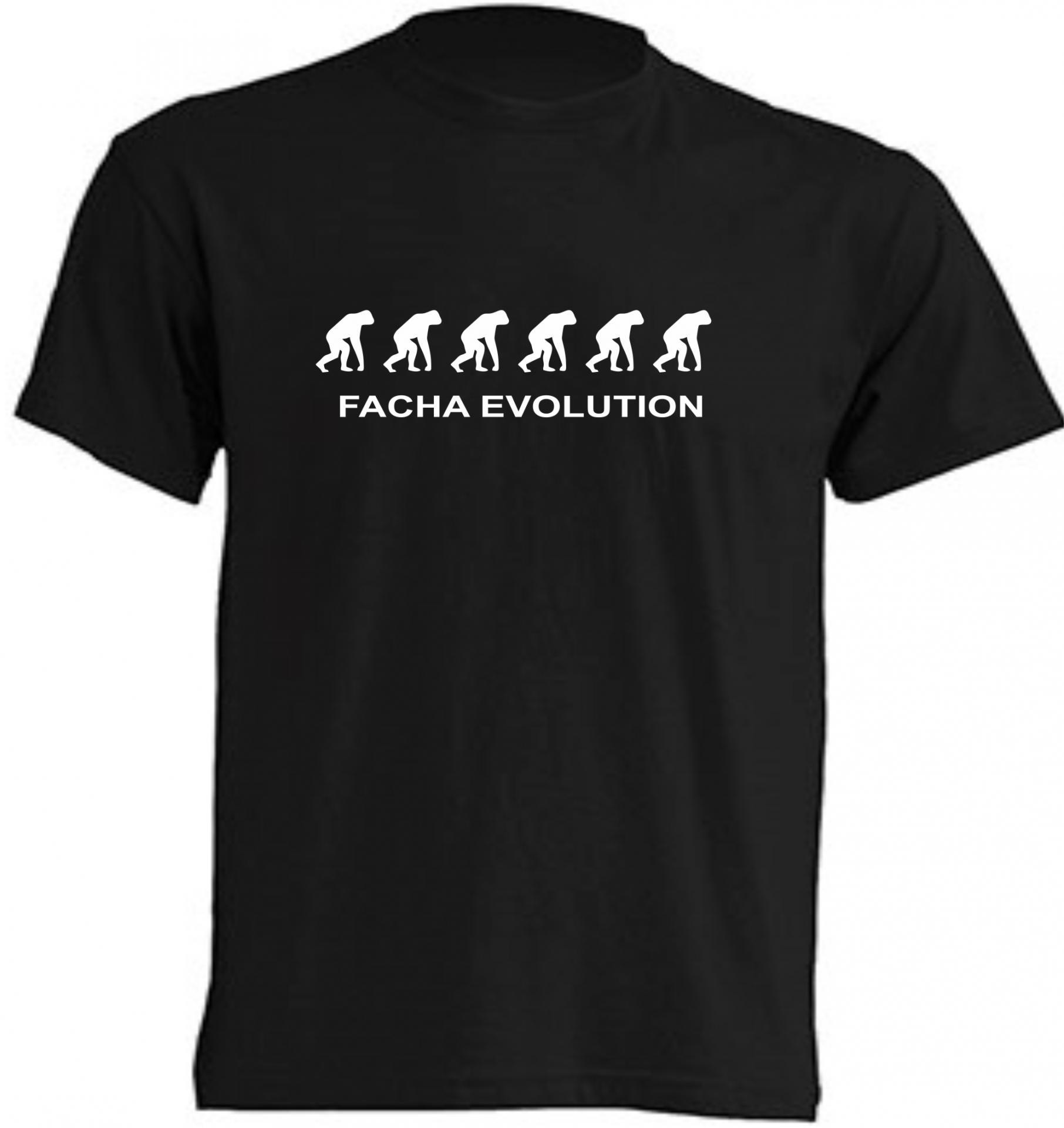 Camiseta Facha Evolution