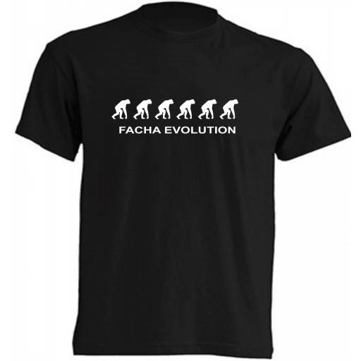 Camiseta Facha Evolution [0]