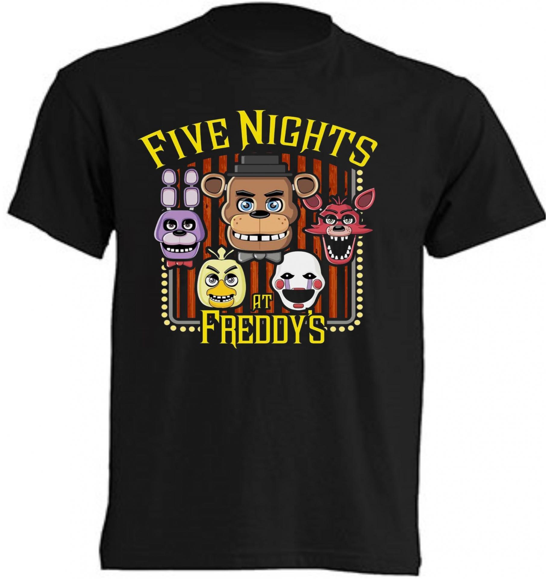 CAMISETA FIVE NIGHTS AT FREDDY'S