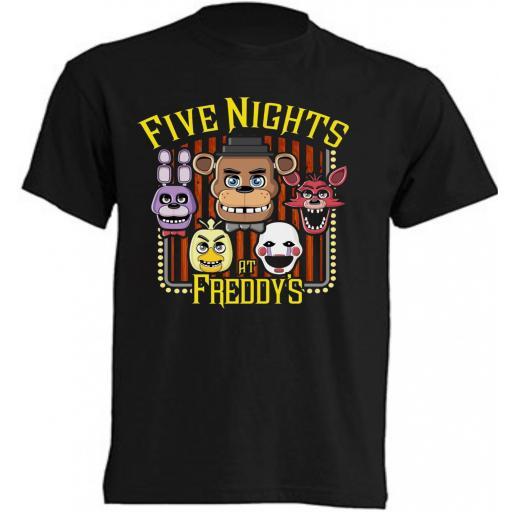 CAMISETA FIVE NIGHTS AT FREDDY'S [0]