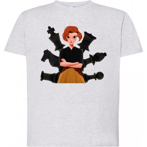 Camiseta Gambito de Dama