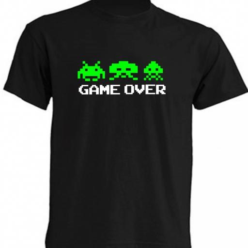 CAMISETA GAME OVER [0]