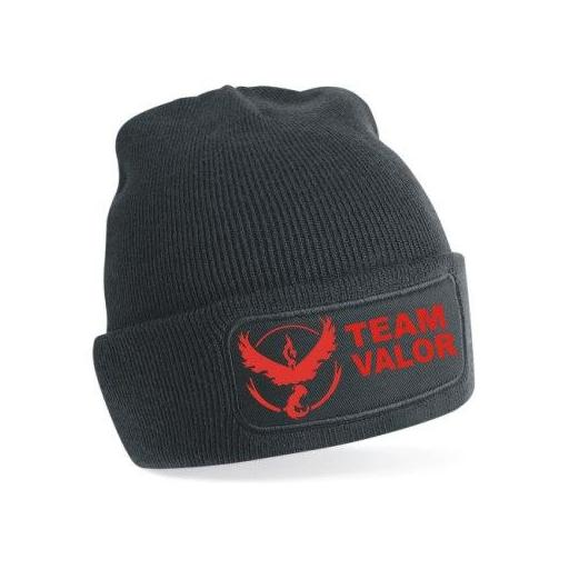 Gorro de punto Pokemon Go Team Valor