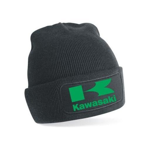 Gorro de punto Kawasaki