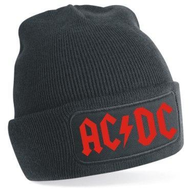 Gorro de punto AC/DC