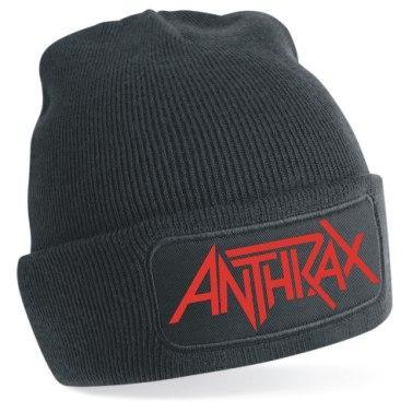 Gorro de punto Anthrax