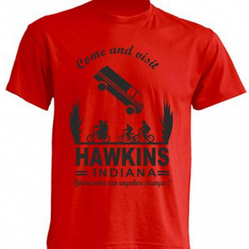CAMISETA VISIT HAWKINS - STRANGER THINGS