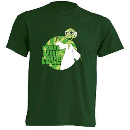 Camiseta Burns I bring you love