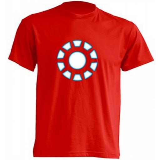 Camiseta Iron Man Escudo