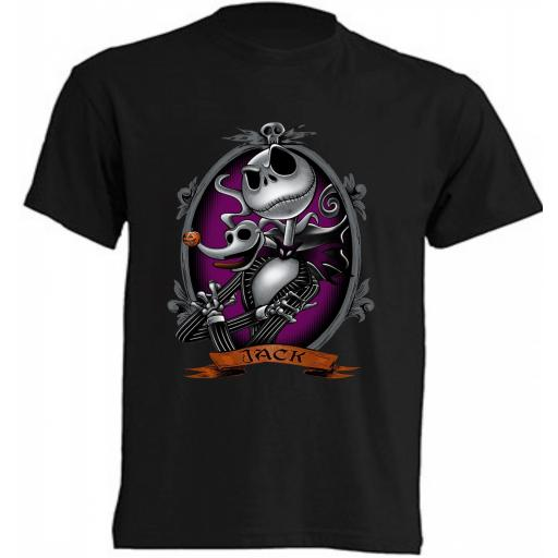 Camiseta Jack Skeletor - Pesadilla antes de Navidad