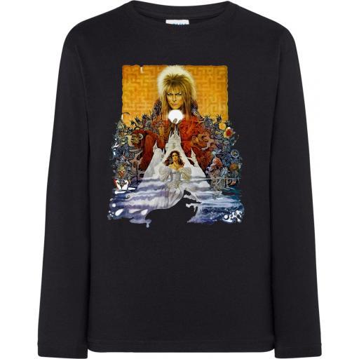 Camiseta Manga Larga Labyrinth Bowie