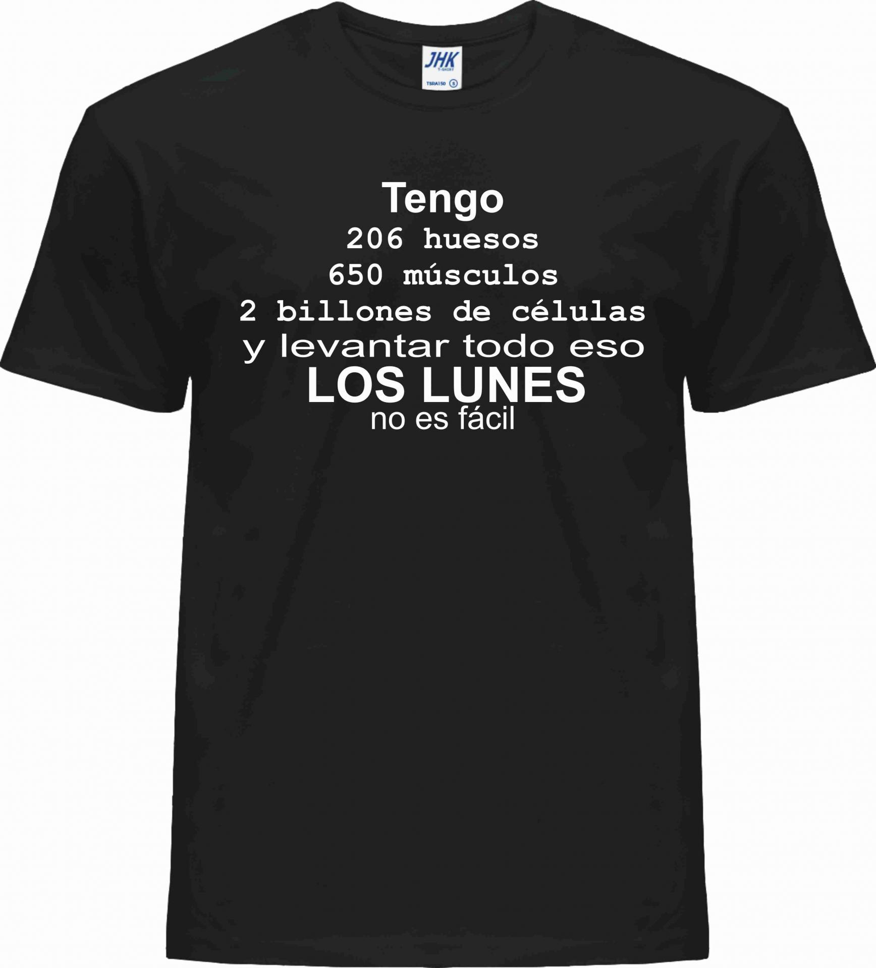 CAMISETA LOS LUNES