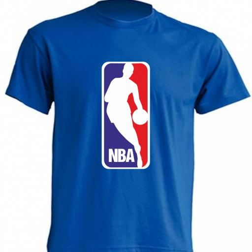 CAMISETA NBA AZUL