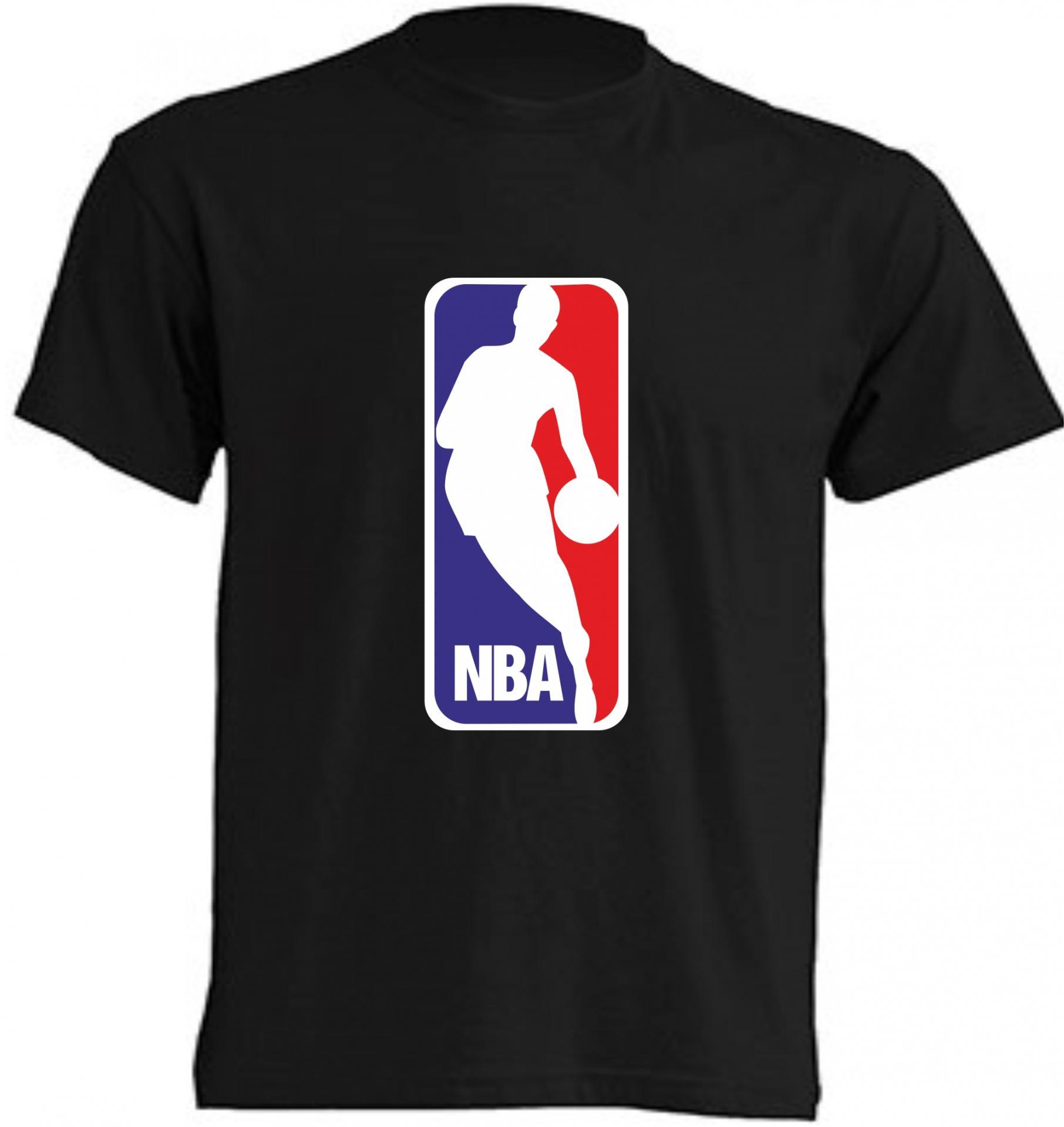 CAMISETA NBA NEGRA